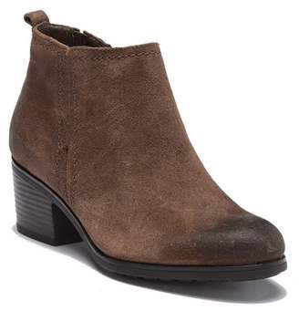 Rockport Danii Side Zip Leather Ankle Bootie - Wide Width Available