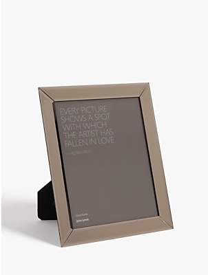 John Lewis & Partners Simple Bevelled Photo Frame, 8 x 10 (20 x 25cm), Smoke