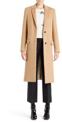 Valentino Studded Camel Hair Coat