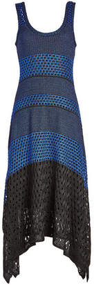 Proenza Schouler Anniversary Collection Knit Dress with Handkerchief Hemline