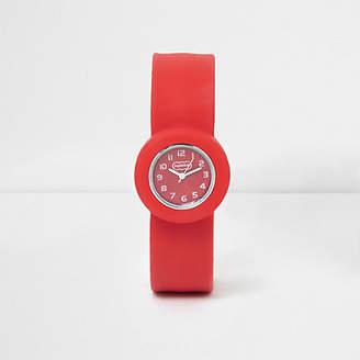 River Island Boys red pop watch