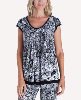 Ellen Tracy Yours to Love Short Sleeve Top