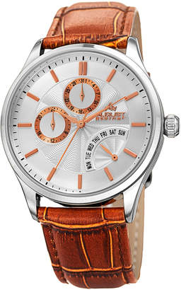August Steiner Men's Multifunction Alloy Watch, 42mm wide