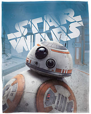 Star Wars Droids Print Fleece Blanket, Multi