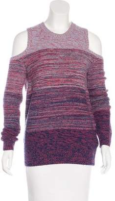 Rebecca Minkoff Cutout-Accented Long Sleeve Sweater