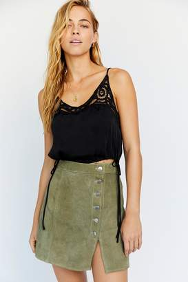 de70a494 Understated Leather Understated Suede Mini Skirt