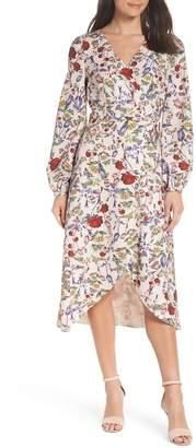 Chelsea28 Floral Wrap Dress (Regular & Plus Size)