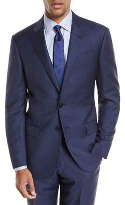 Giorgio Armani Pinstriped Wool Two-Piece Suit