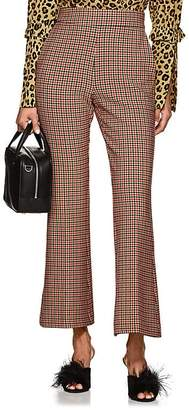 VIVETTA Women's Knaus Checked Crop Flared Trousers