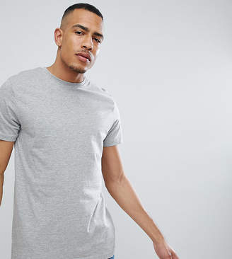 Jacamo TALL Crew Neck T-Shirt In Gray