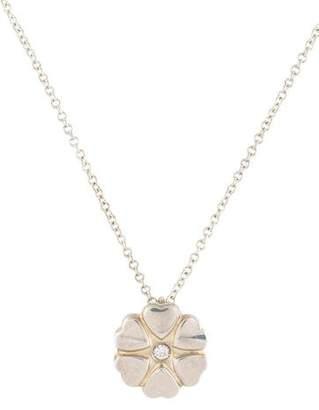Tiffany diamond heart pendant shopstyle diamond crown of hearts pendant necklace aloadofball Choice Image