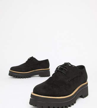 Park Lane Wide Fit Chunky Lace Up Shoes