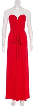 Issa Silk Strapless Dress w/ Tags