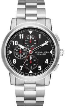 Michael Kors Paxton Stainless Steel Chronograph Bracelet Watch