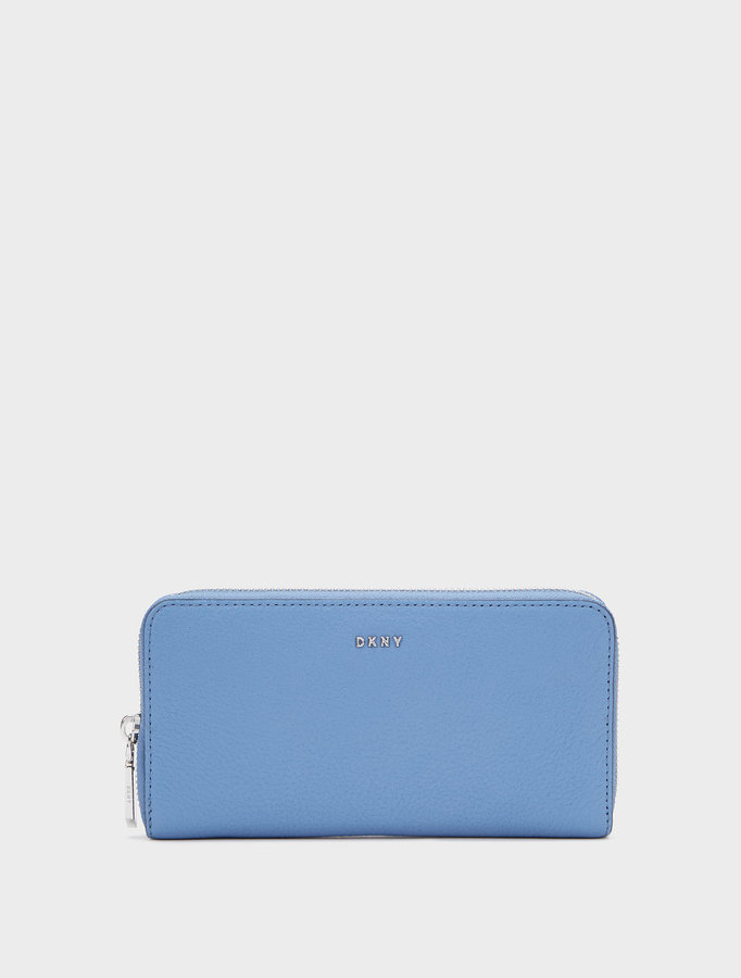 DKNY Large Chelsea Vintage Zip Around Wallet