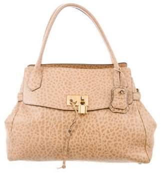 Marc Jacobs Textured Leather Tote Tan Textured Leather Tote