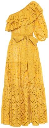 Lisa Marie Fernandez Arden eyelet cotton maxi dress