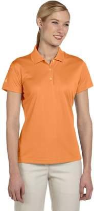 adidas Ladies' ClimaLite Basic Short-Sleeve Polo - S