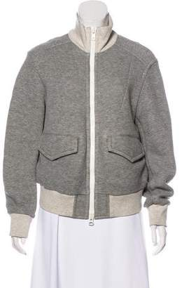 Sacai Luck Zip-Up Bomber Jacket