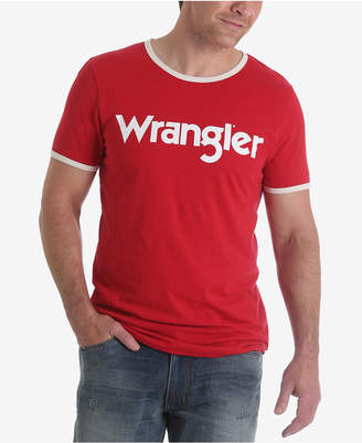 Wrangler Men's 70th Anniversary Collection Kabel Logo Ringer T-Shirt $32.95 thestylecure.com