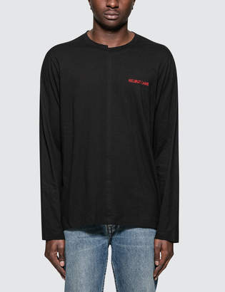 Helmut Lang Cut Neck L/S T-Shirt
