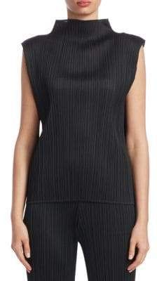 Pleats Please Issey Miyake Basic Tank Top
