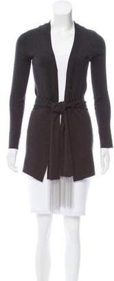 Brunello Cucinelli Silk-Cashmere Open Front Cardigan