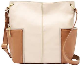 Fossil Lane Leather Crossbody Bag