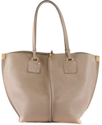 Chloé Vick Wide Leather Tote Bag
