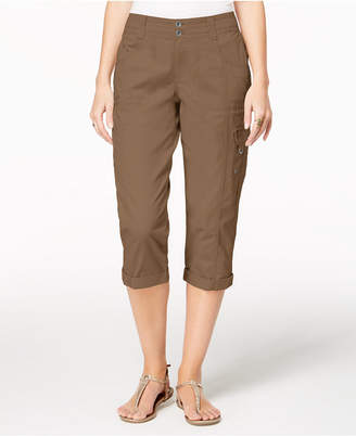 Style&Co. Style & Co Cropped Cargo Pants, Created for Macy's