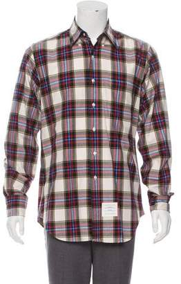 Thom Browne Patterned Casual Shirt