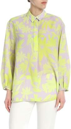3483f01e763fa Yellow Print Blouse - ShopStyle