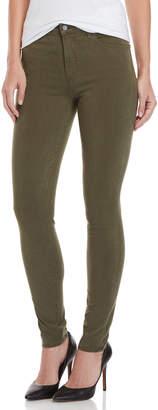 J Brand Olive Maria High-Rise Skinny Jeans