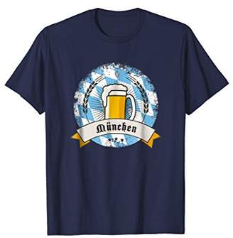 Munich german beer mug oktoberfest T-shirt cheers