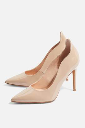 Topshop WIDE FIT SAMMY Court Shoes