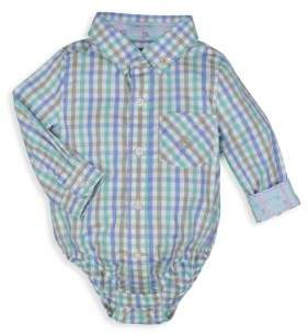 Andy & Evan Baby's Gingham Cotton Bodysuit