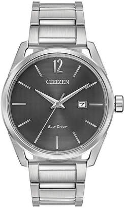 DRIVE FROM CITIZEN ECO-DRIVE Drive from Citizen Mens Silver Tone Bracelet Watch-Bm7410-51h