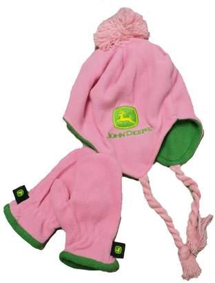 John Deere Toddler Hat and Mittens Set