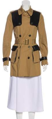 Rebecca Minkoff Long Sleeve Trench Coat