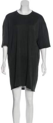 Lanvin Short Sleeve Shirt Dress