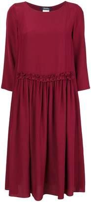Max Mara 'S ruffled waist shift dress