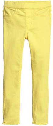 H&M Twill Treggings - Yellow