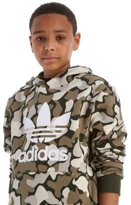 adidas Camo Overhead Hoodie Junior