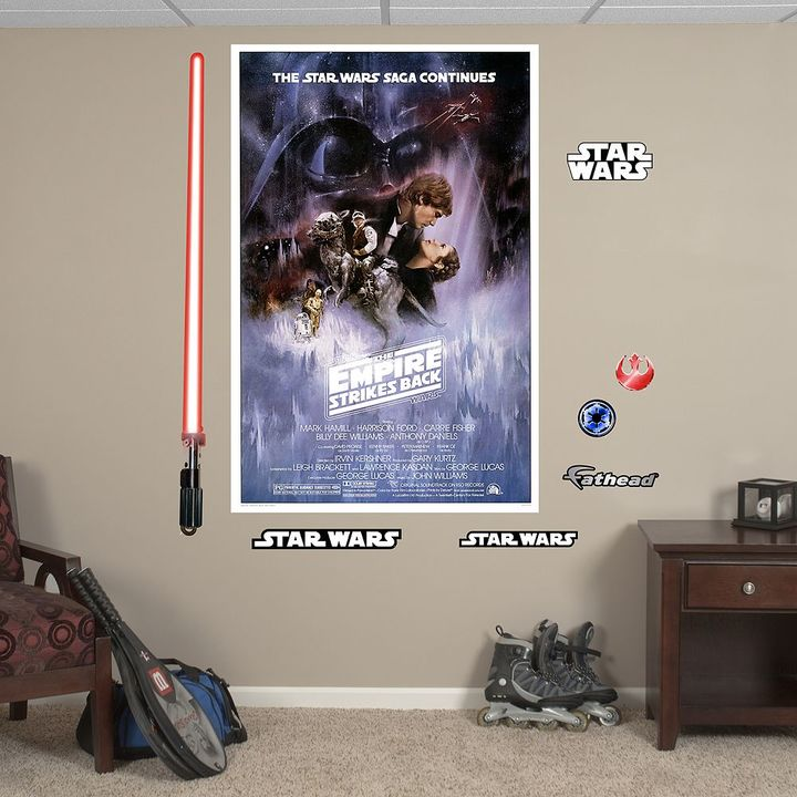 Fathead Star Wars Episode V: The Empire Strikes Back Movie Poster Wall Decal by Fathead