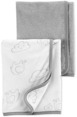 Carter's Carter Baby Boys or Girls 2-Pk. Terry Bath Towels