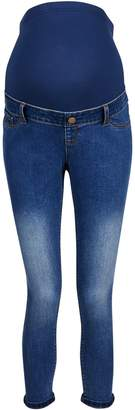 Dorothy Perkins Womens **Maternity 'Harper' Crop Stretch Skinny Jeans