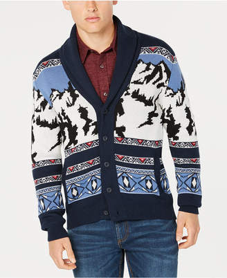 American Rag Men Mountain Shawl-Collar Cardigan