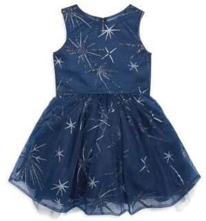 Zoe Girl's Moonlight Glitter Dress