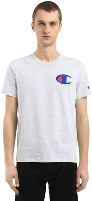 Champion Mini Logo Cotton Jersey T-Shirt