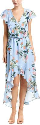 Parker High-Low Midi Dress